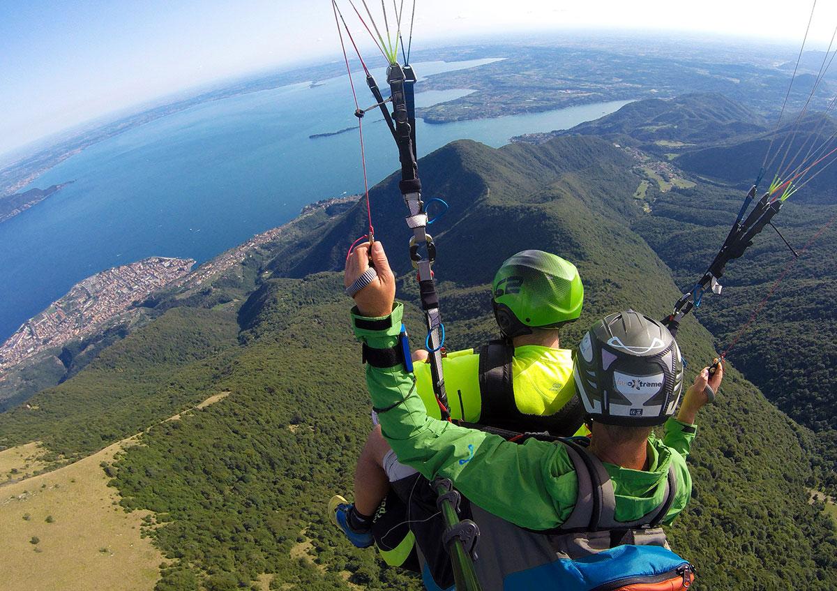 Volo Tandem Parapendio Lago di Garda