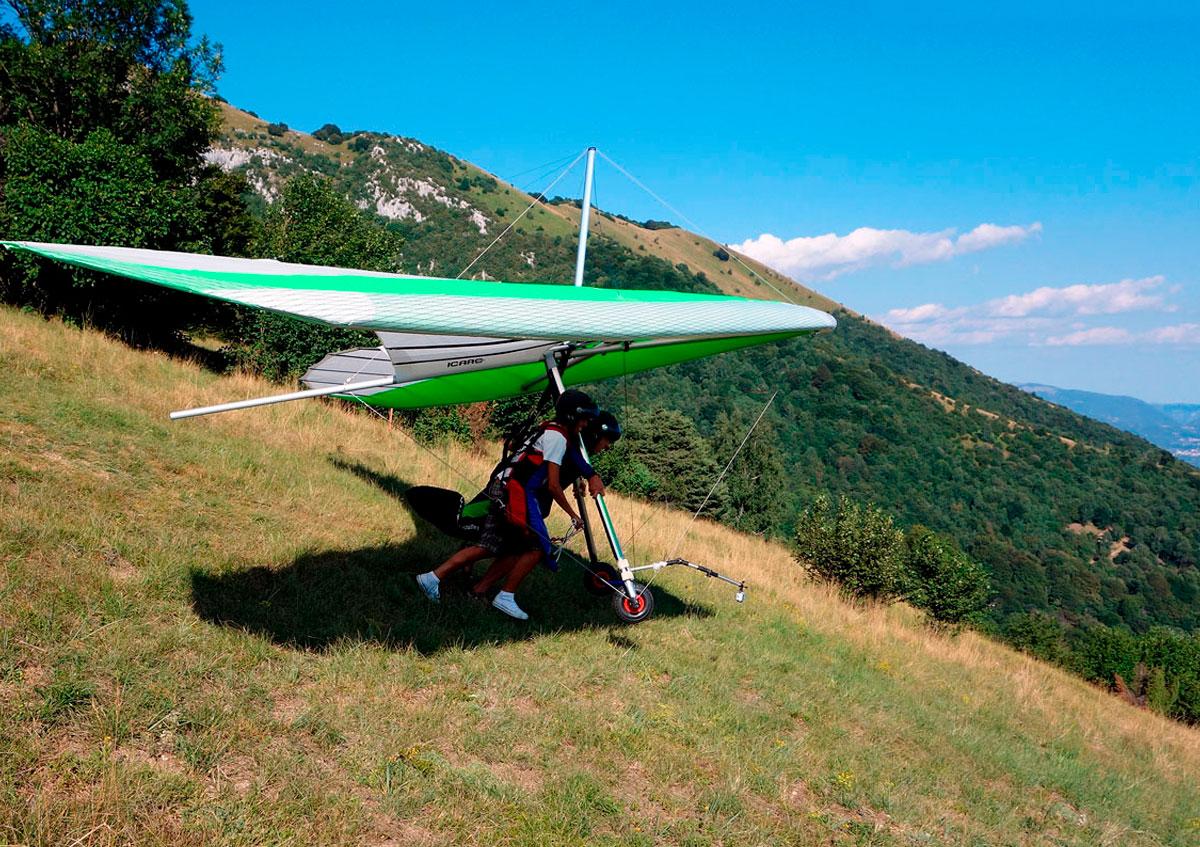 Garda Flying Paradise Deltaplano